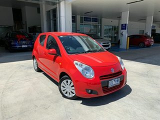 2013 Suzuki Alto GF GL Br Red 4 Speed Automatic Hatchback.