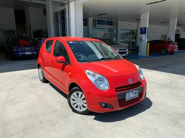 Used Suzuki Alto GF GL Melton, 2013 Suzuki Alto GF GL Br Red 4 Speed Automatic Hatchback