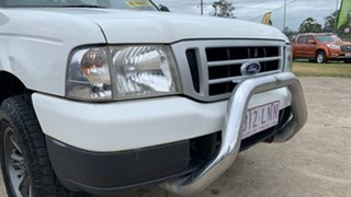 2004 Ford Courier PH GL (4x4) White 5 Speed Manual Crew Cab Pickup
