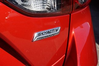 2015 Mazda 3 BM5438 SP25 SKYACTIV-Drive Red 6 Speed Sports Automatic Hatchback