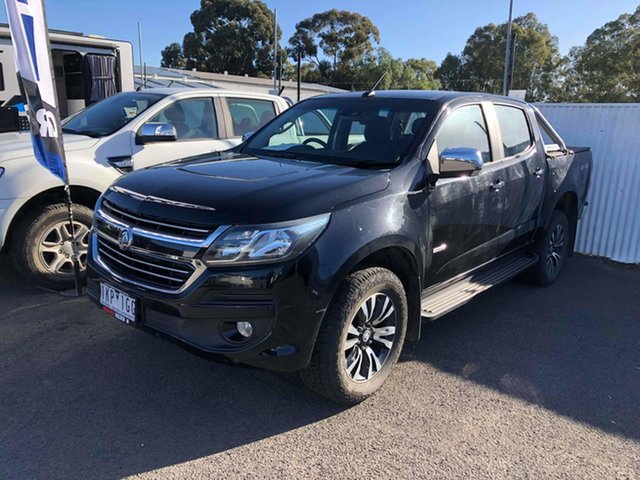 Used Holden Colorado RG MY17 LTZ Pickup Crew Cab 4x2 Epsom, 2017 Holden Colorado RG MY17 LTZ Pickup Crew Cab 4x2 Black 6 Speed Sports Automatic Utility