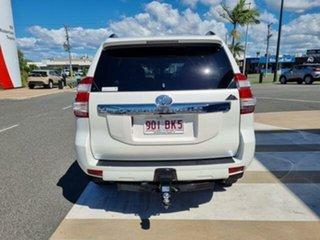 2017 Toyota Landcruiser Prado GDJ150R Altitude Crystal Pearl 6 Speed Sports Automatic Wagon.