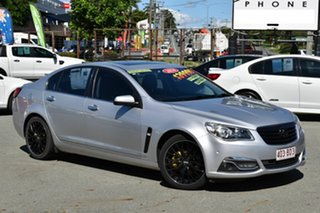 2014 Holden Calais VF V Silver 6 Speed Automatic Sedan.