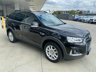 2017 Holden Captiva CG MY17 Active 2WD Black 6 Speed Sports Automatic Wagon.