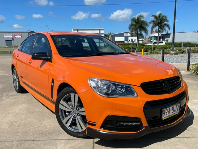 Used Holden Commodore VF MY14 SS Townsville, 2013 Holden Commodore VF MY14 SS Orange/301213 6 Speed Sports Automatic Sedan