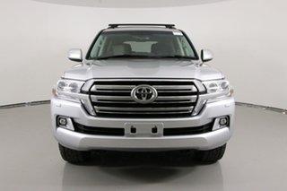 2017 Toyota Landcruiser VDJ200R MY16 VX (4x4) Silver 6 Speed Automatic Wagon.