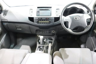 2013 Toyota Hilux KUN26R MY14 SR5 Double Cab White 5 Speed Automatic Utility