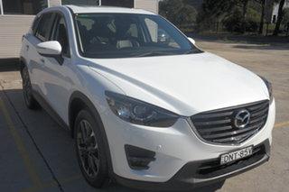 2017 Mazda CX-5 KE1032 Grand Touring SKYACTIV-Drive i-ACTIV AWD White 6 Speed Sports Automatic Wagon.