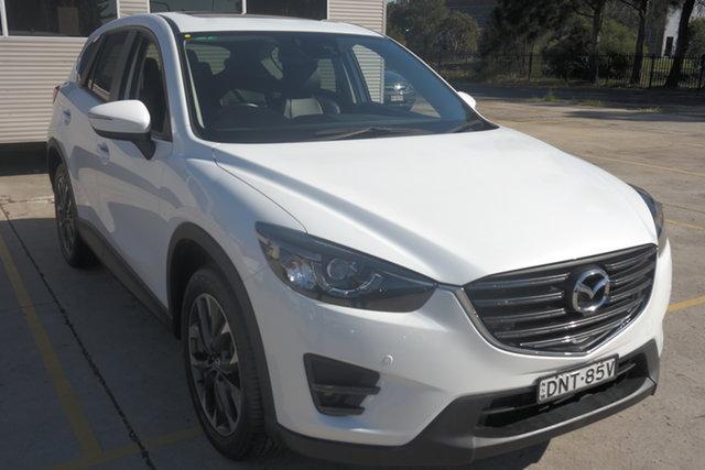 Used Mazda CX-5 KE1032 Grand Touring SKYACTIV-Drive i-ACTIV AWD Maryville, 2017 Mazda CX-5 KE1032 Grand Touring SKYACTIV-Drive i-ACTIV AWD White 6 Speed Sports Automatic Wagon