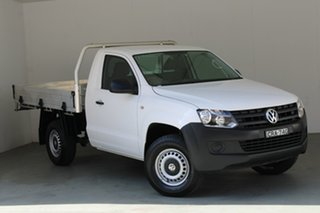 2012 Volkswagen Amarok 2H MY12.5 TSI300 4x2 White 6 Speed Manual Cab Chassis