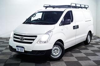 2016 Hyundai iLOAD TQ3-V Series II MY17 White 6 Speed Manual Van.
