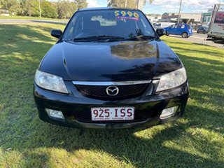 2003 Mazda 323 BJ II-J48 Astina Black 4 Speed Automatic Hatchback