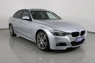 2014 BMW 320i F30 MY14 Silver 8 Speed Automatic Sedan.