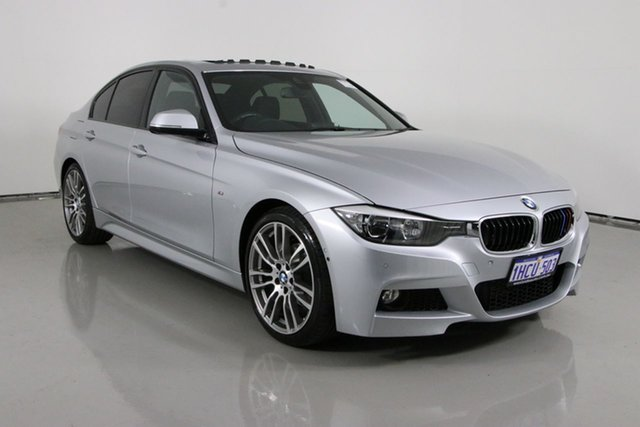 Used BMW 320i F30 MY14 Bentley, 2014 BMW 320i F30 MY14 Silver 8 Speed Automatic Sedan