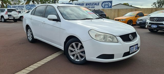Used Holden Epica EP MY09 CDX East Bunbury, 2008 Holden Epica EP MY09 CDX White 6 Speed Sports Automatic Sedan