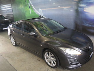 2012 Mazda 6 GH MY11 Luxury Sports Grey 5 Speed Auto Activematic Hatchback