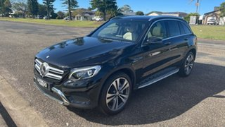 2016 Mercedes-Benz GLC-Class X253 807MY GLC250 9G-Tronic 4MATIC Black 9 Speed Sports Automatic Wagon.
