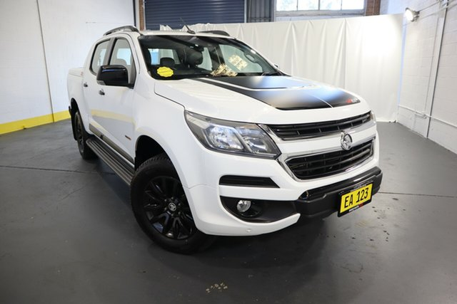 Used Holden Colorado RG MY16 Z71 Crew Cab Castle Hill, 2016 Holden Colorado RG MY16 Z71 Crew Cab White 6 Speed Sports Automatic Utility