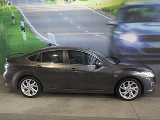 2012 Mazda 6 GH MY11 Luxury Sports Grey 5 Speed Auto Activematic Hatchback.