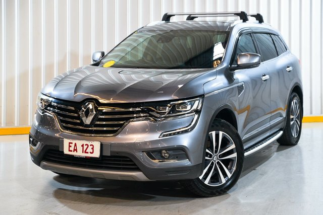 Used Renault Koleos HZG Intens X-tronic Hendra, 2016 Renault Koleos HZG Intens X-tronic Grey 1 Speed Constant Variable Wagon
