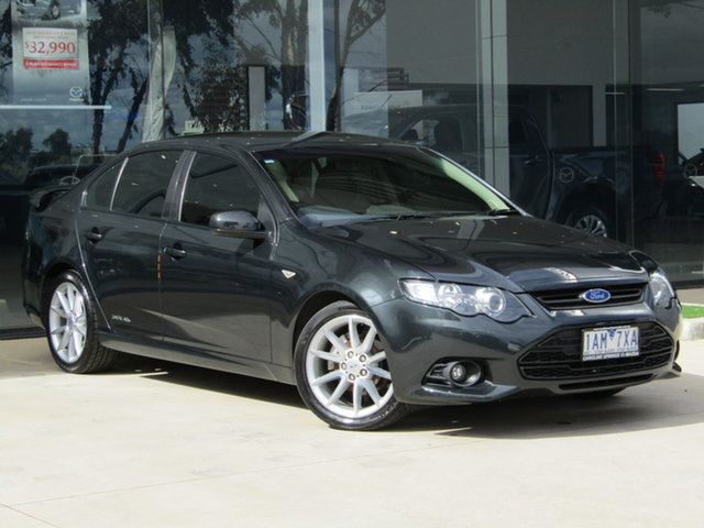 Used Ford Falcon FG MkII XR6 Ravenhall, 2013 Ford Falcon FG MkII XR6 Grey 6 Speed Sports Automatic Sedan