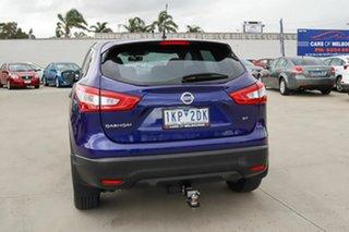 2017 Nissan Qashqai J11 ST Blue 1 Speed Constant Variable Wagon