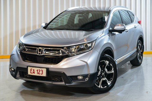 Used Honda CR-V RW MY19 VTi-S 4WD Hendra, 2019 Honda CR-V RW MY19 VTi-S 4WD Silver 1 Speed Constant Variable Wagon