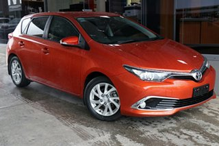 2017 Toyota Corolla ZRE182R Ascent Sport S-CVT Inferno Orange 7 Speed Constant Variable Hatchback.