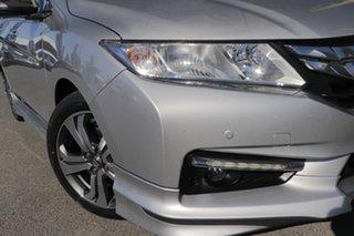 2014 Honda City GM MY14 VTi-L Alabaster Silver 7 Speed Constant Variable Sedan.