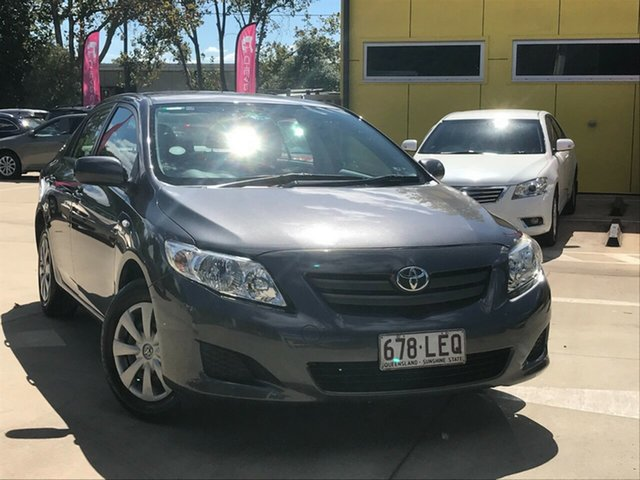 Used Toyota Corolla ZRE152R Ascent Toowoomba, 2008 Toyota Corolla ZRE152R Ascent Grey 6 Speed Manual Sedan