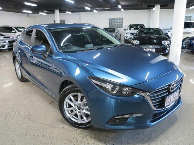 Used Mazda 3 BN5478 Maxx SKYACTIV-Drive Sport Albion, 2018 Mazda 3 BN5478 Maxx SKYACTIV-Drive Sport Blue 6 Speed Sports Automatic Hatchback