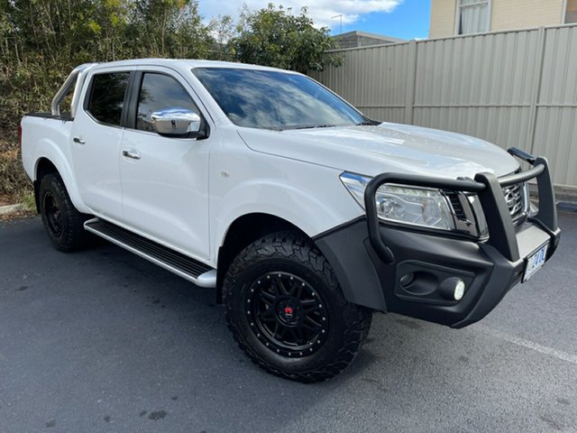 Used Nissan Navara D23 S3 ST Devonport, 2018 Nissan Navara D23 S3 ST Polar White 6 Speed Manual Utility