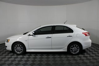 2014 Mitsubishi Lancer CJ MY14.5 LX White Solid 6 Speed Constant Variable Sedan