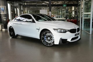 2017 BMW M4 F82 Competition M-DCT White 7 Speed Sports Automatic Dual Clutch Coupe.