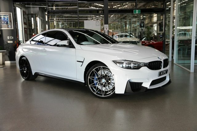Used BMW M4 F82 Competition M-DCT North Melbourne, 2017 BMW M4 F82 Competition M-DCT White 7 Speed Sports Automatic Dual Clutch Coupe