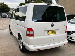 2008 Volkswagen Caravelle T5 White Sports Automatic Wagon.