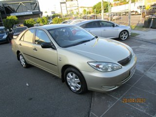 2003 Toyota Camry ACV36R Altise Gold 4 Speed Automatic Sedan.