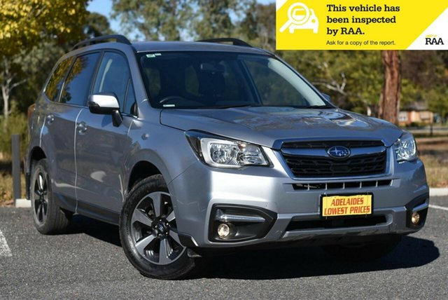 Used Subaru Forester S4 MY18 2.5i-L CVT AWD Morphett Vale, 2018 Subaru Forester S4 MY18 2.5i-L CVT AWD Silver 6 Speed Constant Variable Wagon