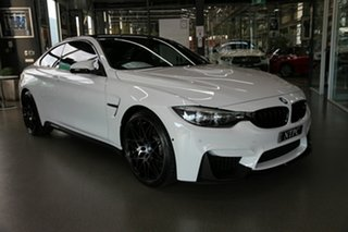 2017 BMW M4 F82 Competition M-DCT White 7 Speed Sports Automatic Dual Clutch Coupe