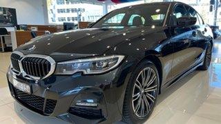 2020 BMW 3 Series G20 320i Steptronic M Sport Black Sapphire 8 Speed Sports Automatic Sedan