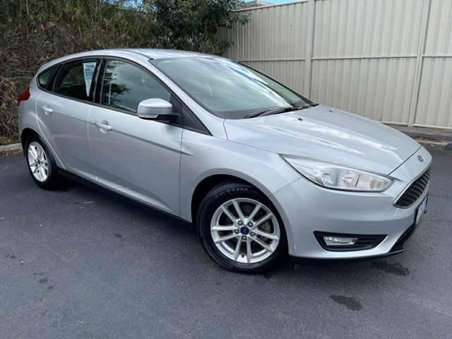 Used Ford Focus LZ Trend Devonport, 2017 Ford Focus LZ Trend Silver 6 Speed Automatic Hatchback