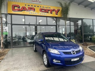 2007 Mazda CX-7 ER Classic (4x4) Blue 6 Speed Auto Activematic Wagon.