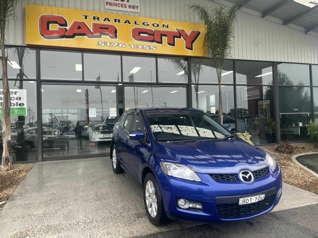Used Mazda CX-7 ER Classic (4x4) Traralgon, 2007 Mazda CX-7 ER Classic (4x4) Blue 6 Speed Auto Activematic Wagon