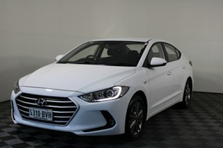 2016 Hyundai Elantra AD MY17 Active White 6 Speed Sports Automatic Sedan
