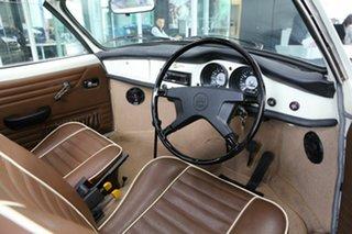 1973 Volkswagen Karmann Ghia White Cabriolet.