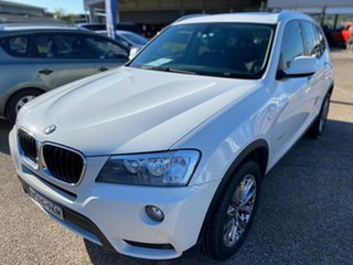2013 BMW X3 F25 MY0413 xDrive20d Steptronic White 8 Speed Automatic Wagon
