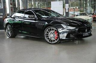 2017 Maserati Ghibli M157 MY17 Sport Black 8 Speed Sports Automatic Sedan.