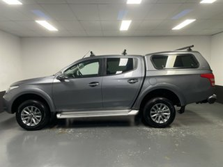 2017 Mitsubishi Triton MQ MY18 GLS Double Cab Grey 5 Speed Sports Automatic Utility