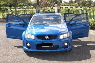 2009 Holden Commodore VE MY10 SS Blue 6 Speed Automatic Sedan