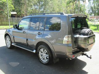 2012 Mitsubishi Pajero NW MY13 VR-X Grey 5 Speed Sports Automatic Wagon.